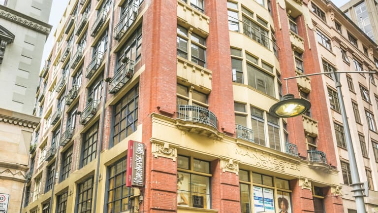 The office floors and a shop are for sale at Manchester House, 234 Flinders Lane .Melbourne