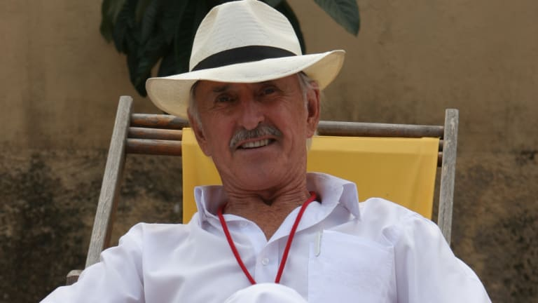 John of God guide and author Robert Pellegrino-Estrich in Abadiania, Brazil.