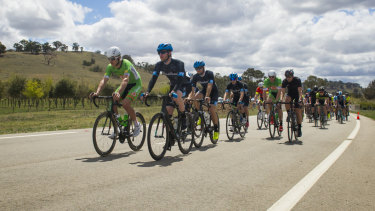 Ayden Toovey is leading the men's A-grade classification after two stages.