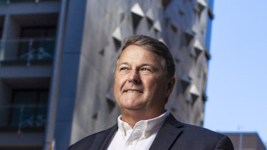 Charter Hall chief executive David Harrison.