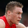 Dees confident McDonald will play Pies but prepared to fly him home