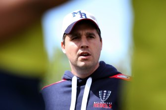 Thinker: Wessels is in his third year as Rebels coach.