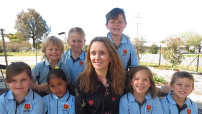 'Master of everything': Principal makes her mark at country school