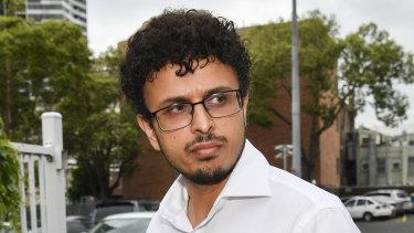 Arsalan Khawaja pictured in December 2018.
