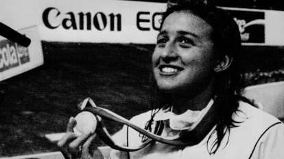 From the Archives, 1991: Hats off to Hayley Lewis, World Champ