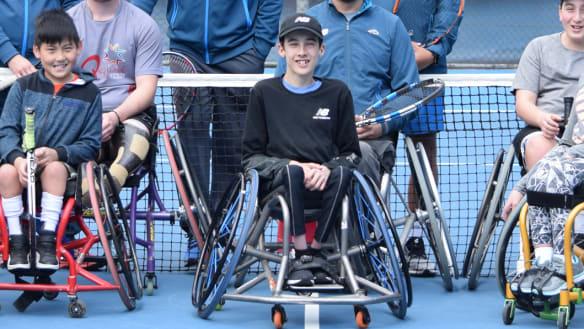 Wheelchair tennis prospect Oli Pizzey Stratford defying odds