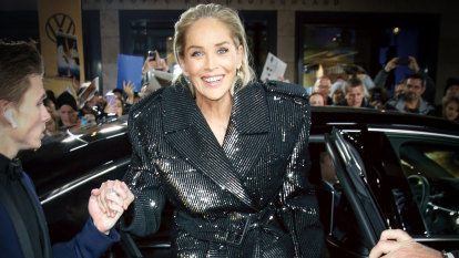 'I really very much enjoyed being Sharon Stone. But I'm enjoying being myself more'