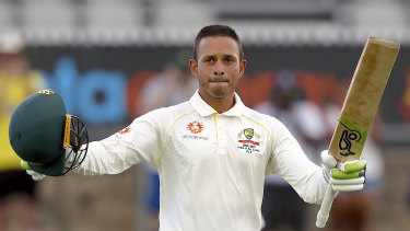 Banker: Usman Khawaja came through a rough time with much-needed century against Sri Lanka.