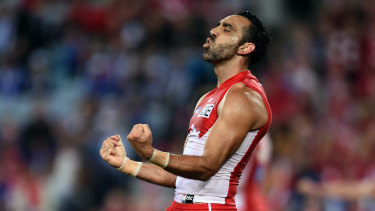 Adam Goodes ... a man to unite, not divide, us.