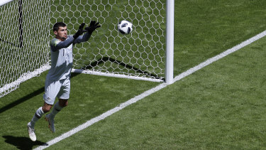 He's a keeper: Mat Ryan will still be around for Qatar and beyond.