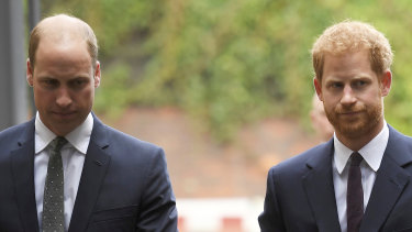 """Prince William and Prince Harry have rebuffed as """"offensive"""" a newspaper article about their relationship."""
