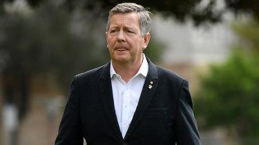 Australian Olympic Committee chief executive Matt Carroll.