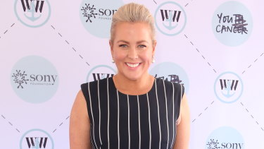 Samantha Armytage at the Wharf4Ward fundraiser.