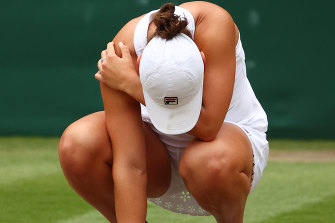 Ash Barty: the moment.