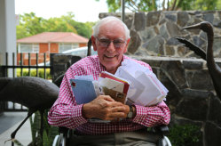 Jim Tilley campaigned for full pension rights for UK expats in Australia.
