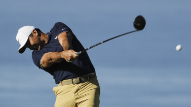 Air time? Australians would be able to watch the full rounds of golfers such as Jason Day under the Golf TV plan.