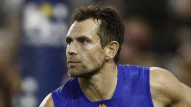 Going strong: Brisbane Lions veteran Luke Hodge.