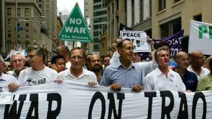 From the Archives: Sydney protests the Iraq War