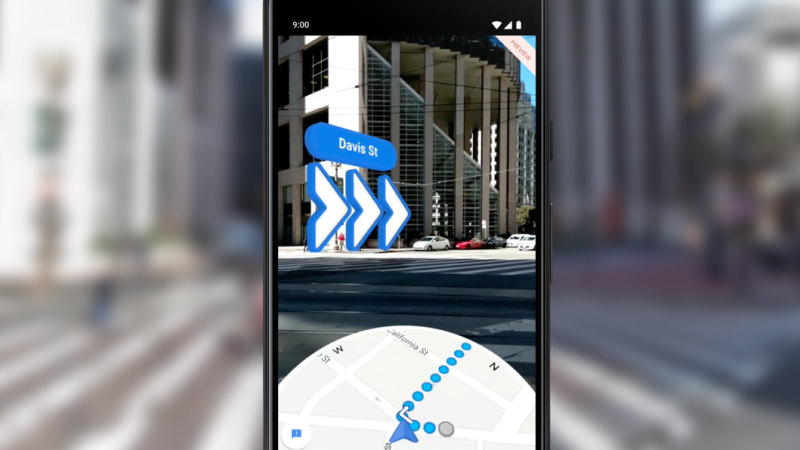 Google Maps' AR navigation makes walking directions foolproof on google world map, maps driving directions, google mapss, bing maps walking directions, maps and directions, map for directions,