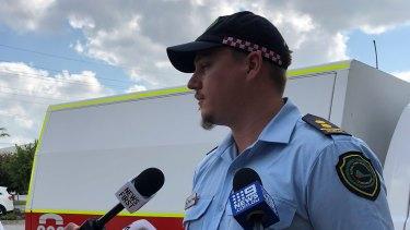 Queensland RFS volunteer and strike team leader David Clarke.