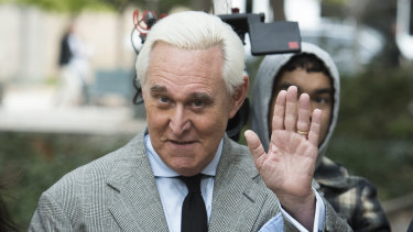 Republican dirty trickster Roger Stone.