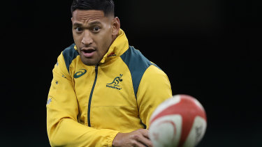 Filtered: Israel Folau has to abide by new social guidelines under his new contract.