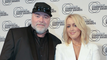 KIIS FM hosts Kyle Sandilands and Jackie O.