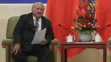 It has been alleged the Brisbane man was involved in a plot to kill Samoa Prime Minister Tuilaepa Lupesoliai Sailele Malielegaoi.