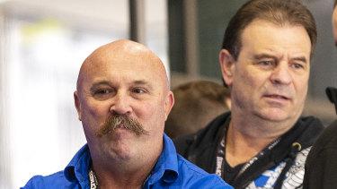 Union officials Shaun Reardon (left) and John Setka.