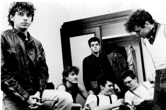 A young INXS launch Shabooh Shoobah in 1982.