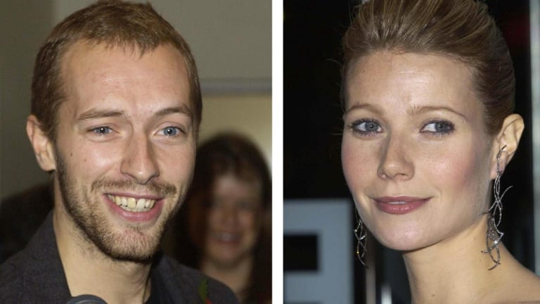 "Gwyneth Paltrow and Chris Martin, proponents of ""conscious uncoupling""."