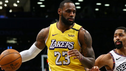 LeBron dominant as Lakers down Nets