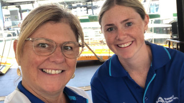 Mum S The Word Blues Star Working Ferries Alongside Biggest Supporter