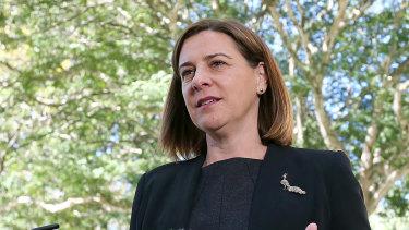 Deb Frecklington has faced questions over an explosive interview made by retiring Currumbin MP Jann Stuckey.