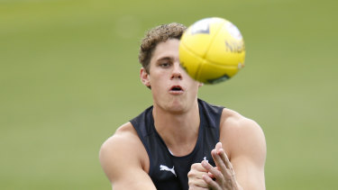 Carlton's Charlie Curnow continues to have a bad run with injury.