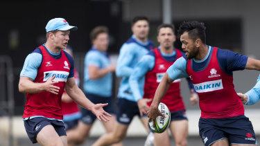 Cam Clark (left), Karmichael Hunt (right) won't be returning to NSW next season.