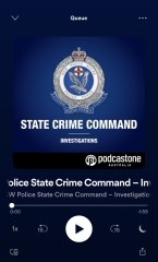 NSW State Crime Command - Investigations podcast