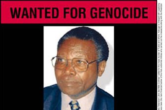 The wanted poster for Felicien Kabuga, accused of genocide.