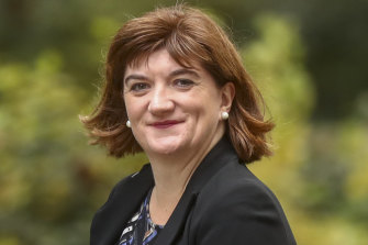 Nicky Morgan confirmed the decision in a letter to her conservative colleague.