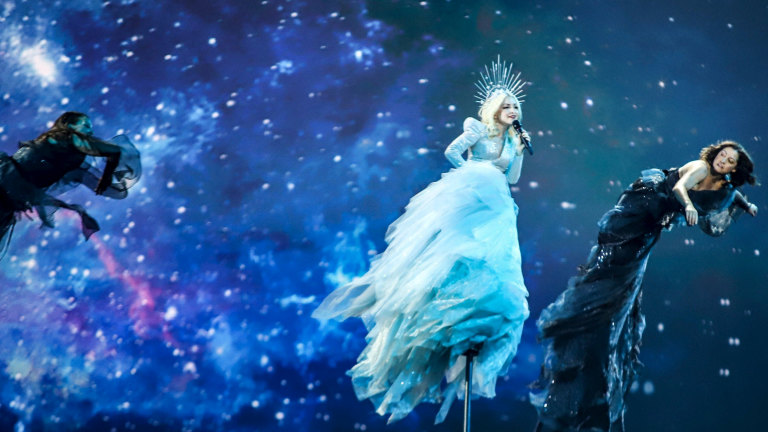 Kate Miller Heidke Soars At 64th Eurovision Song Contest To Deliver Australia Ninth Place