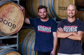 Xanadu winemaker Brendan Carr and Glenn Goodall have pumped out some great drops from the Margaret River winery of late.
