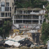 Illegal balconies and landslip risks: court rules harbourside mansion 'unlawfully' built