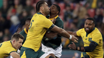 Clunky Wallabies will have their work cut out against Pumas