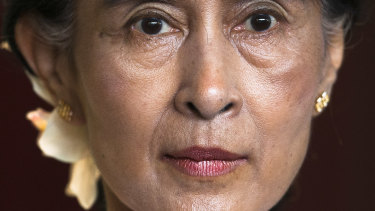 Aung San Suu Kyi became an international heroine during her time leading a peaceful opposition to the country's military junta.
