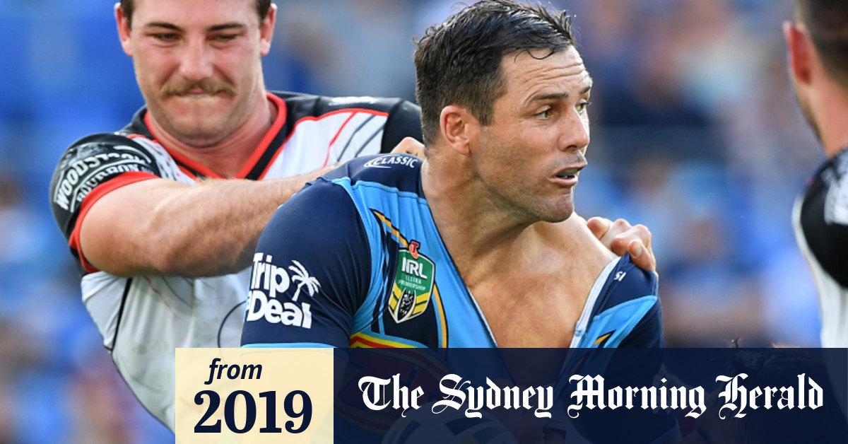 Nrl 2019 Gold Coast Titans Veteran Michael Gordon Calls Time On Nrl Career