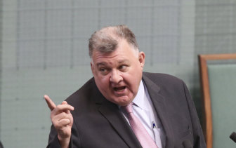 Craig Kelly said he had given political advice to the founder of Reignite Democracy Australia.
