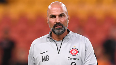Staying put: Wanderers set to keep faith in coach Markus Babbel.