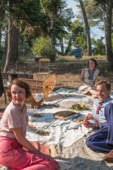 A scene from the television series <i>The Durrells</i>.