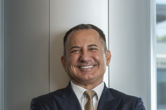 Bank of Queensland chief executive George Frazis is open to more takeovers.