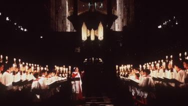 King's College choir.
